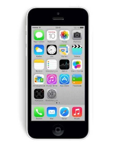 Oprava a servis Apple iPhone 5c